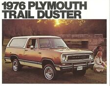 1976 Plymouth Trail Duster Sales Brochure Mint!
