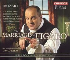 Mozart - The Marriage of Figaro [Opera in English] CD, David Parry, Conductor