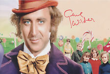 GENE WILDER Signed 12x8 Photo WILLY WONKER AND THE CHOCOLATE FACTORY COA