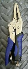 Kobalt 6 1/2 Inch Long Nose Locking Pliers / Vise Grips - New