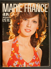'MARIE-FRANCE' FRENCH VINTAGE MAGAZINE SUMMER ISSUE JUNE 1971