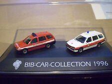 51 Herpa 1/87 Michelin Man Bib-Car-Collection 1996 VW 2 car PC set Feuerwehr