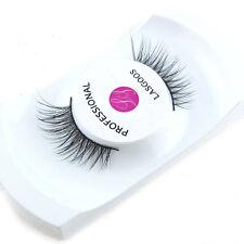 NEW IY1 1 Pair Real Mink MINI Corner Half False Eyelashes Fake Eye Lashes