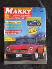 Markt für klassische Automobile,  Ausgabe April 1991, Fiat 124