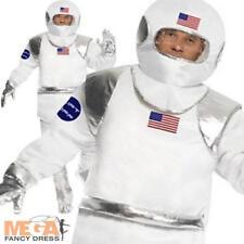 Spaceman para Hombre Vestido Elaborado Disfraz Adulto astronauta espacio uniforme Usa + Casco