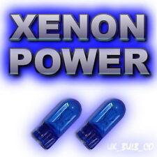 SAAB 900 9-3 93 9-5 95  XENON SIDELIGHT BULBS free p&p