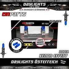 H1 Xenon Look Optik Halogen Lampen EPB29K + W5W T10 Xenon Look Standlicht gratis