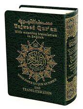 Tajweed Quran, English Translation&Transliteration Pocket size/Dar Marifa Qur'an