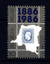 BELGIUM - BELGIO - 1986 - Centenario del primo francobollo dello Stato del Congo