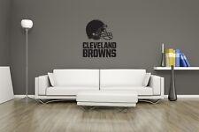 Huge Cleveland Browns Vinyl Sticker Decal Wall Art  / Man Cave