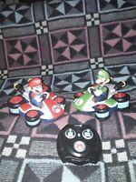 Rare Official Nintendo MarioKart 8  mario and luigi Remote Controlled karts