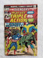 Marvel Triple Action #25 (Sep 1975, Marvel) Vol #1 VF