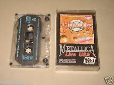 METALLICA - Live USA - MC Cassette tape /801