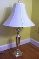 OFFERS WELCOME! Silver Edward F. Caldwell & Co. Antique Art Deco Lamp. Stylish!
