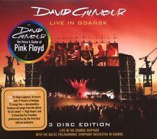 """DAVID GILMOUR """"LIVE IN GDANSK"""" 2 CD+DVD NEW"""