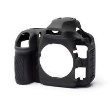 EasyCover Pro Piel de silicona caso de armadura de cámara para adaptarse a Nikon D850 Dslr-Negro