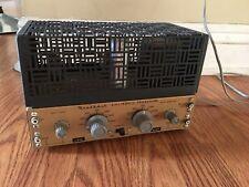 New listing Vintage Heathkit Xo 1 Mono Tube Electronic Crossovers W/ Cage Xo1 Heath