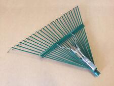 Leaf Rake Tool Metal Outdoor Garden Organizer Supplies Fall Autumn Yard Cleaning