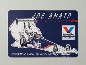 Valvoline Racing Joe Amato 1995 Sticker People Who Know Use Valvoline 7947