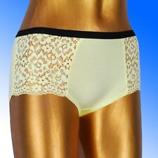 Ladies Marks & Spencer 3 PACK ~ Vintage Lace High Rise Full Briefs Shorts M&S
