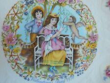 1978 Royal Doulton Valentine'S Day Plate, Mint, Victorian Children In Garden!