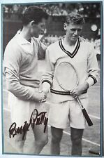 Budge PATTY – Wimbledon champion 1950-dédicacé Tennis photo