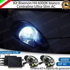 KIT XENON BIXENON BIXENO XENO H4 6000 K 35W PER FIAT GRANDE PUNTO ULTRALUMINOSI