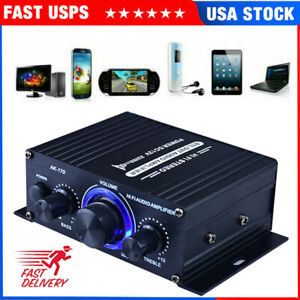 400W Power Digital Amplifier HIFI Mini Stereo Audio AMP USB FM Mic Car Home 2021