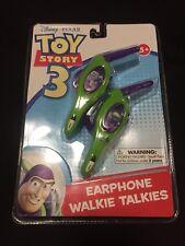 Disney Pixar Toy Story 3 Buzz Lightyear Star Command Earphone Walkie Talkies A1
