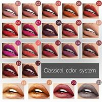 21 Farben Lippenstift Langanhaltend Wasserdicht Matt Liquid Kosmetik Make Up