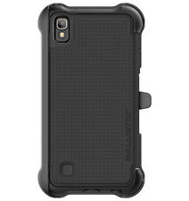 Ballistic TX1729-A06N Tough Jacket Maxx Case with Holster for LG X Power - Black