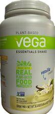 Vega Essentials Plant Protein Powder Vanilla 20g Protein 2.3lb Shake MEAL