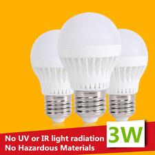 LED Spot Light Bulbs E27 3W 12V 110V-240V Lamps Bright Lamp Home Camping Hunting