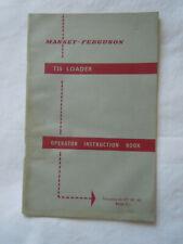 @Massey Ferguson Instruction Book- 735 Loader@