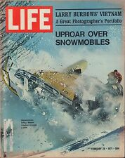 LIFE February 26,1971 Snowmobiles / Vietnam / View from the Year 2000 / Stamps