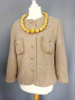 Veste tailleur DESARBRE  Laine et soie Vintage Taille FR44 US12 UK16 EUR42