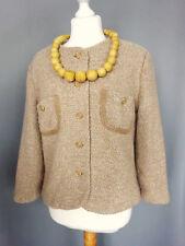 Veste tailleur DESARBRE hiver Laine et soie Vintage Taille FR44 US12 UK16 EUR42