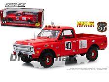 Highway 61 1:18 18007 Mecum Auctions 1969 Chevrolet C-10 Baja 1000 Truck Red