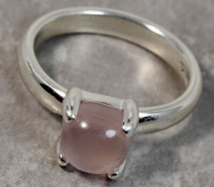 Tiffany & Co. Sterling Silver Paloma Picasso Pink Topaz Sugar Stack Ring