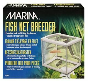 Marina Fish Net Breeder Isolation Tank for Birthing, Wounded or Aggressive Fish