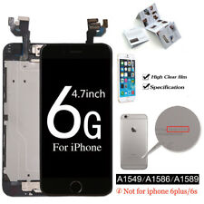 For Apple iPhone 6 6S Plus 5.5 4.7 Complete Screen LCD Digitizer Touch + Button