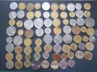 SUPERB COLLECTION OF 78 FRENCH COINS  [ K364 ]  1945 TO 1995 GREAT MIX OF COINS