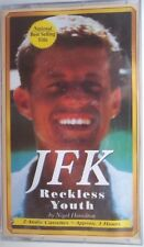 """1~Book-2 Cassettes"""" JFK Reckless Youth"""" By Nigel Hamilton-3 Hours~New & Sealed"""