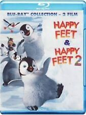 Blu Ray HAPPY FEET + HAPPY FEET 2 *** (Box 2 Blu-Ray) *** .....NUOVO