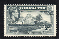 Gibraltar 2d Grey Stamp c1938-51 Perf 14 Mounted Mint Hinged (3017)