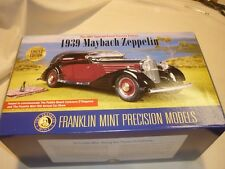 A Franklin mint scale model car of a 1939 Maybach Zeppelin,  boxed
