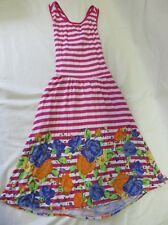 Dream Out Loud by Selena Gomez Sundress Cutout Back Pink Stripe Jr Size M #6440