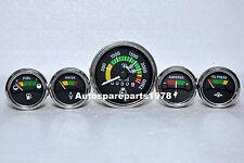 Mf Gauges Kit Massey Ferguson 265 285 Tractor Tachometer Temp Oil Fuel Amp