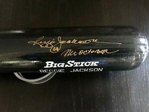 Reggie Jackson New York Yankees Signed Autographed Pro Model Player Bat - UDA