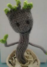 Handmade Baby Groot en pot de Gardiens de la galaxie Mignon Film Caractère